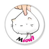 Meow kitűző 1