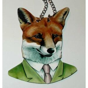 Állatfejes nyaklánc Foxi úr