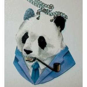 Állatfejes nyaklánc Panda bácsi