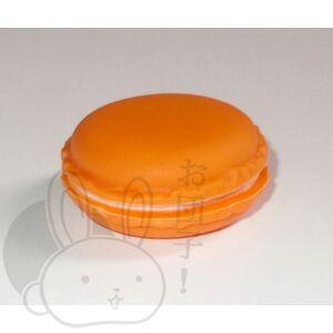 Macaron dobozka narancssárga
