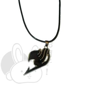 Fairy tail nyaklánc fekete