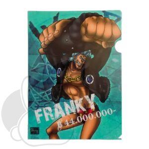 One Piece irattartó Franky