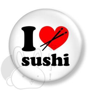 I love szusi kitűző 1 közepes
