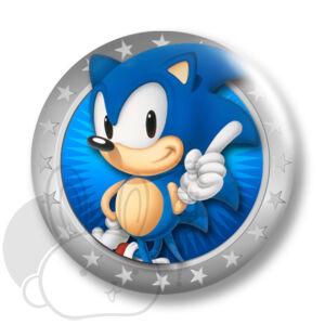 Sonic kitűző 1 közepes