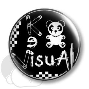 Visual kei kitűző 2 közepes