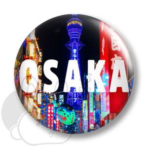 Osaka kitűző 1 közepes