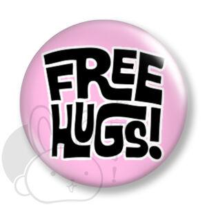 Free Hug kitűző 1 közepes