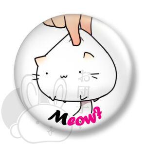 Meow kitűző 1 közepes
