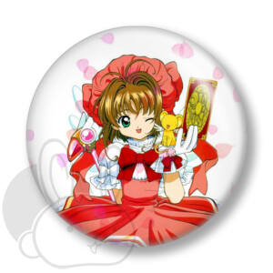 Card Captor Sakura kitűző 1 közepes