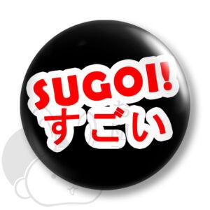 Sugoi kitűző 1 közepes