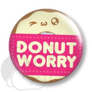 Donut worry kitűző 1 közepes