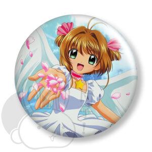 Card Captor Sakura kitűző 2 közepes