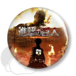 Attack on Titan kitűző 1 közepes
