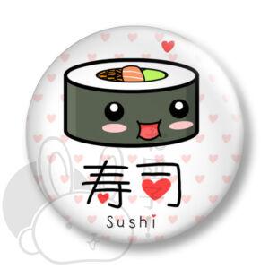 Sushi kitűző 2 közepes