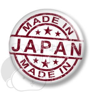 Made in Japan kitűző 4 közepes