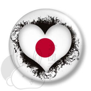 Japán kitűző 6 közepes
