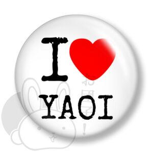 Yaoi kitűző 1 közepes