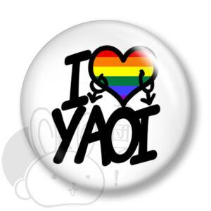 Yaoi kitűző 3 közepes