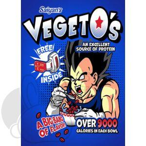 Vegeto's pehely hűtőmágnes