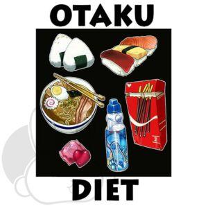 Otaku Diet hűtőmágnes