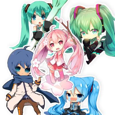Vocaloid matrica csomag