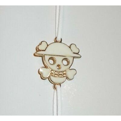 One Piece fehér karkötő