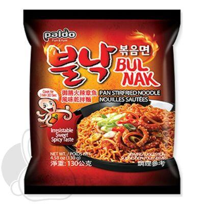 Koreai tintahalas sült tészta