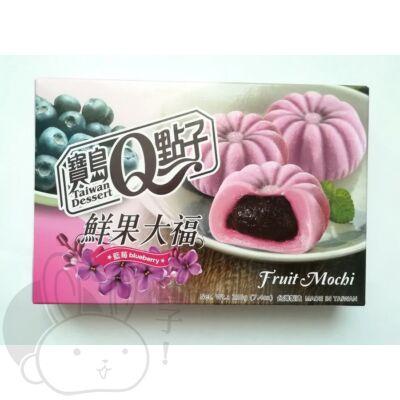 Mochi áfonya ízű