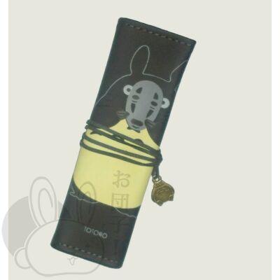 Totoro tolltartó/ecsettartó álarcos