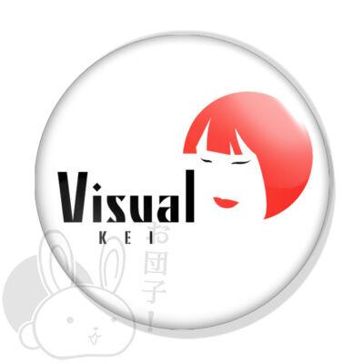 Visual kei kitűző 1