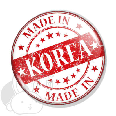 Made in Korea kitűző 1