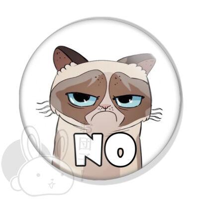 Grumpy Cat kitűző 1