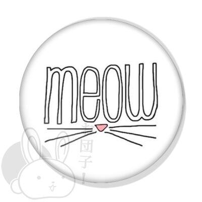 Meow kitűző 2