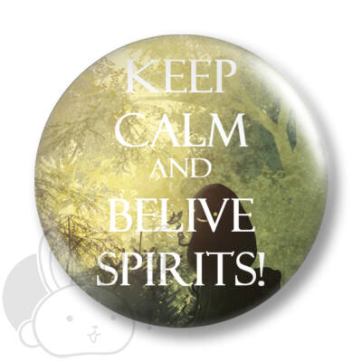 Keep Calm and Belive Spirits kitűző 1