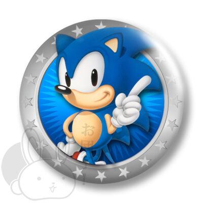 Sonic kitűző 1