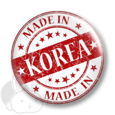 Made in Korea kitűző 1