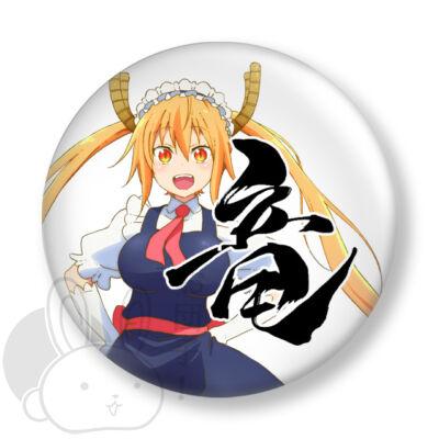 Kobayashi-san Chi no Maid Dragon kitűző 1