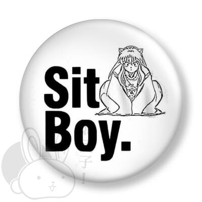 Sit boy kitűző 1