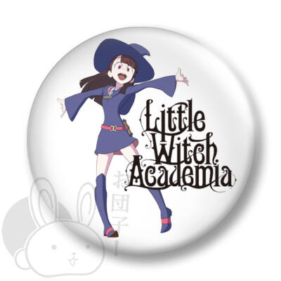 Little Witch Academia kitűző 3