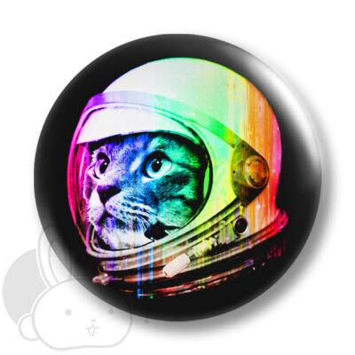 Űrcica kitűző 1