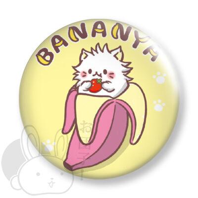Bananya kitűző 2