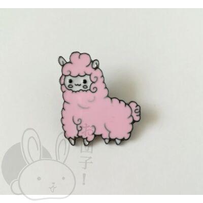 Jelvény alpaka rózsaszín