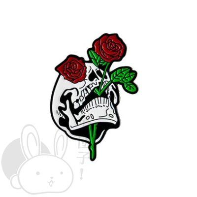 Jelvény rózsás koponya