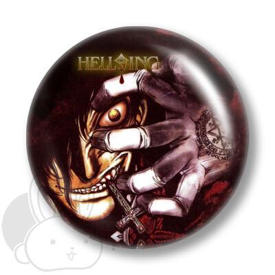 Hellsing kitűző 1