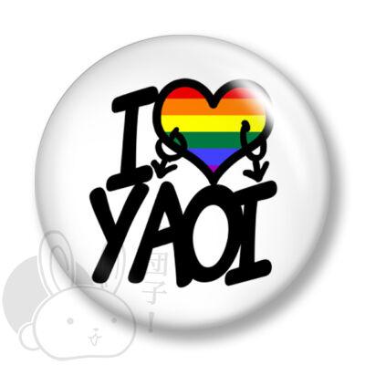 Yaoi kitűző 3