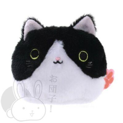 Gombóc cica fekete és fehér