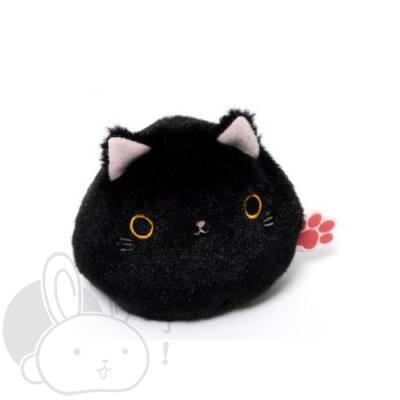 Gombóc cica fekete