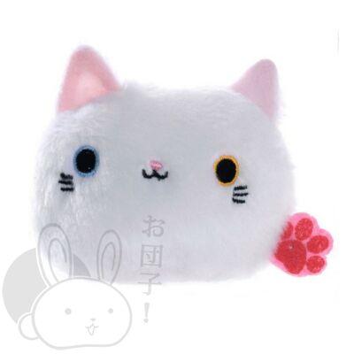 Gombóc cica fehér