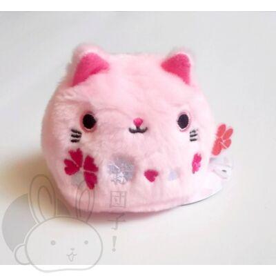 Gombóc cica rózsaszín