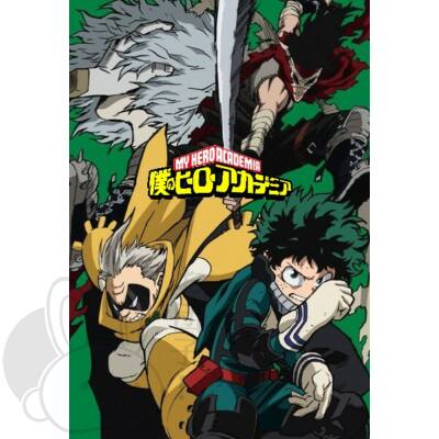 Boku no Hero Academia poszter 9